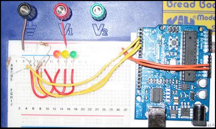 Arduino Traffic Lights (Timer version)
