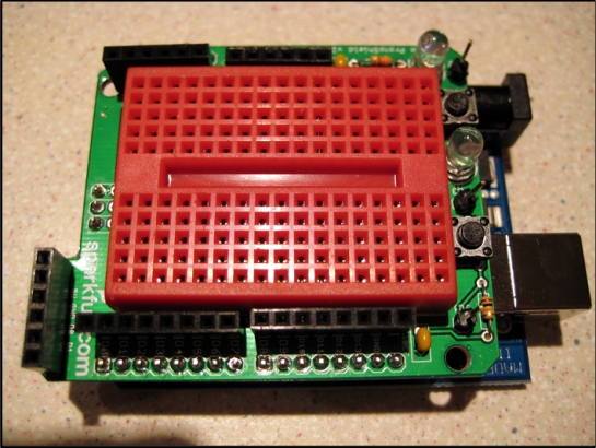 Protoshield with Breadboard